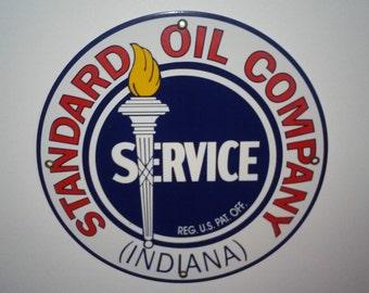 Standard Oil sign