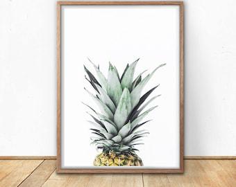 Pineapple, Digital Download, Digital Prints, Best Friend Gift, Wall Art, Pineapple Decor, Tropical, Art Print, Printable, Photography,