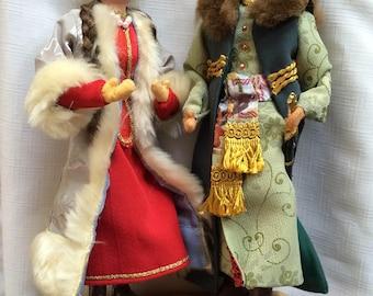 Polish Folk Dolls,Polish Doll,Polish Costume,Folk Art Doll,Polish Decor,Polish 17th Century,17th Century Costume,Polish Folk Art,Polish Gift