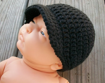 Crochet Brimmed Hat (13 colors available)