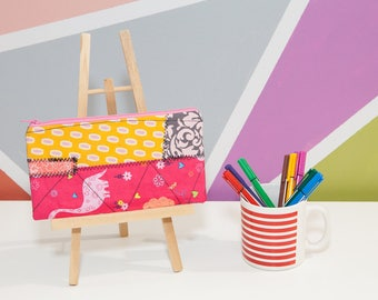 Pencil case, pencil pouch, pencil zipper pouch