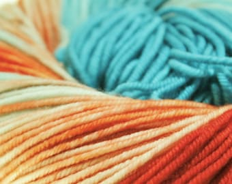 Made To Order Pick Your Base Kettle Dyed - Fire and Ice