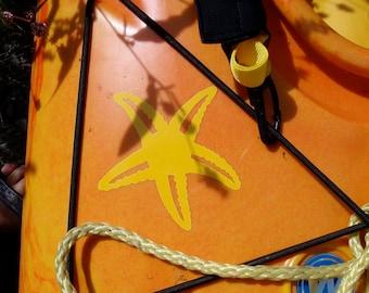 Étoile de mer/Sea Star, MEDIUM, Kayak Decal