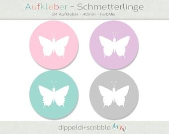 Label Butterfly