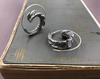 orecchini a spirale gipsy