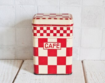 "Lovely Vintage French ""Café"" Store Box 