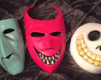 Christmas nightmare Lock shock and barrel trio masks