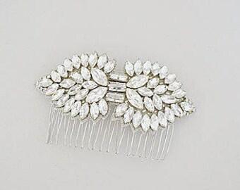 CORNELIA Crystal Vintage Inspired Bridal Hair Comb