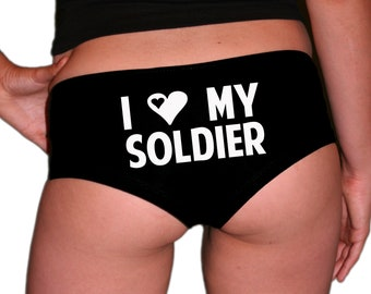 Army Panties. Army Husband Gift. Army Wife Gift. Army Girlfriend. Army Gift. Gift For A Soldier.