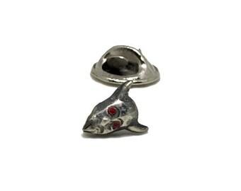 Tiny Devil Pin | Small Lapel Pin | Tie Tack Pin | Brass Lapel Pin | Silver Lapel Pin | Devil Pin | Small Devil Pin