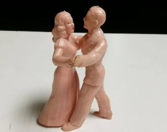 Fred Astaire and Ginger Rogers(?) Rubber Figurines/Cake Toppers