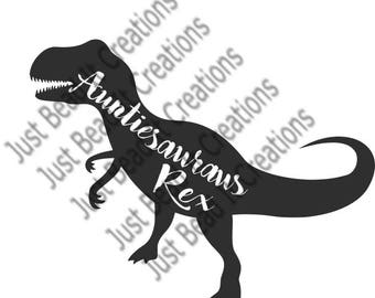 Auntisauraus Inspired SVG Cut File