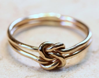 Gold-Filled Love Knot