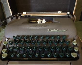 Smith Corona Sterling Typewriter in Box