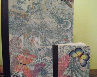 Up Cycled Butterfly Composition Notebooks On Sale