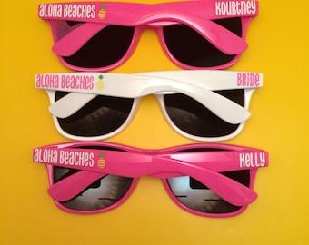 Bachelorette Party Favor, Personalized Sunglasses, Bride Tribe, Bachelorette Sunglasses, Custom Sunglasses, Wedding Sunglasses, bachelorette