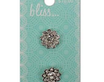 Cute Crystal Cluster Bliss Buttons