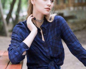 JESSICA NAVY BLUE Shirt