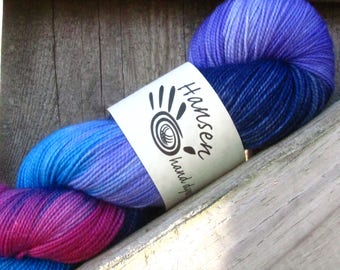 ZMO - Twisty BFL - BFL/Nylon - Hand Dyed Sock Yarn