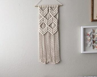 Macrame Patterns/Macrame Pattern/Macrame Wall Hanging Pattern/Wall Hanging Pattern/DIY/Craft/Name: Double X