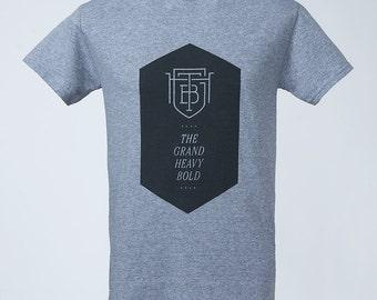 TGHB Hexagon T-Shirt grey