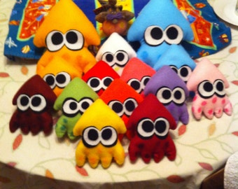 Splatoon - Hand made squids