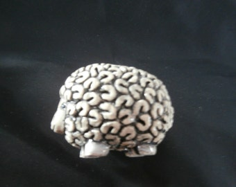 ARTESANIA RINCONADA SHEEP Vintage Ceramic Sheep Ewe Collectible