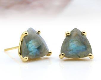 SUMMER SALE - Labradorite earrings,gold earrings,unique earrings,gemstone earrings,bridal earrings,evening earrings