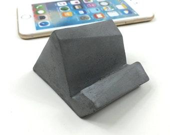 Concrete iPhone stand/iPhone Docking/iPad mini stand
