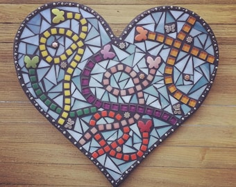 Butterflies Are Free To Fly - Mosaic Art