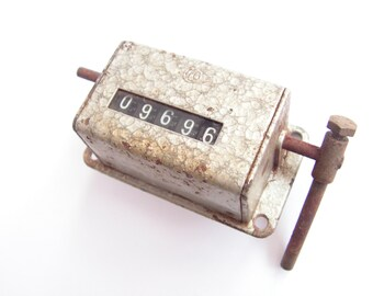 Mechanical counter, Vintage counter