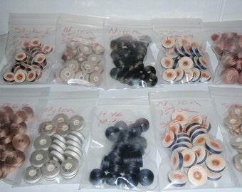 Pre-wound bobbins, 2 dozen per bag. price is per bag.