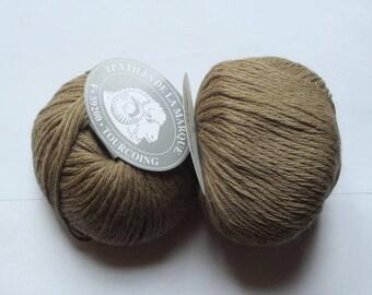 5 balls pure baby alpaca Textiles coffee brand