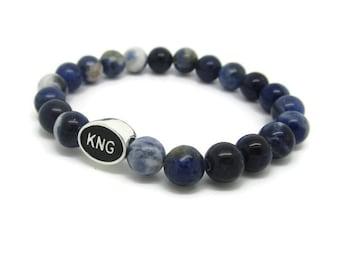 Kingston, KNG, Kingston Jewelry, Kingston Bracelet, Kingston Gifts, Blue Sodalite