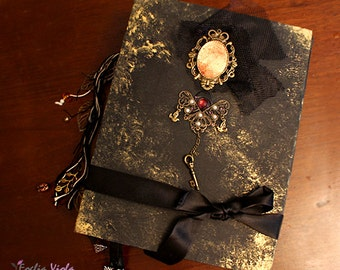 PERSONALIZE YOUR BOS Moonlight Spell wedding journal Book of Shadows Grimoire diary handcraft pagan spell libro incantesimi idea gift her