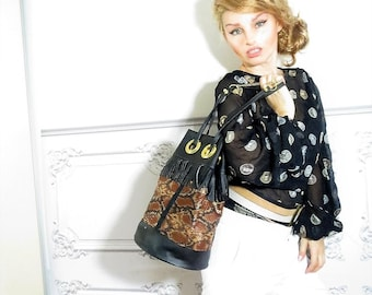 Hand bag, bucket bag, trendy bag