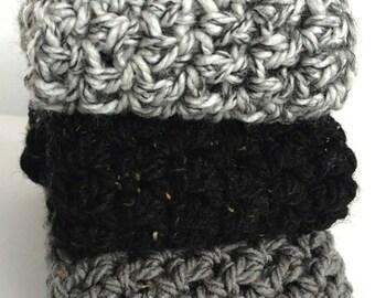 READY TO SHIP, Infinity Scarf, Handmade, Crocheted Scarf