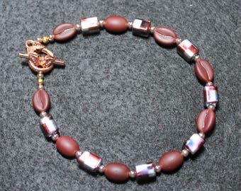 Crystal Coffee Bean Bracelet
