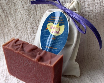 """Berrywine scented """"Everyday Soap"""" Handmade Cold Process Homemade"""