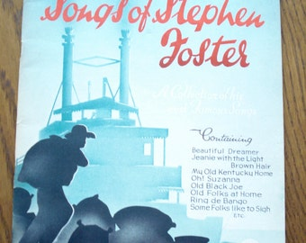 Sheet music book The Songs of Stephen Foster