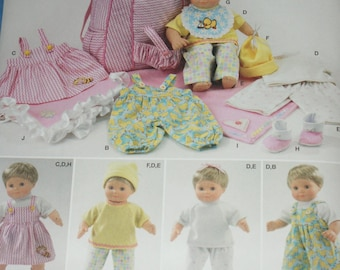 """New Simplicity 15"""" doll Clothes Pattern 1952"""