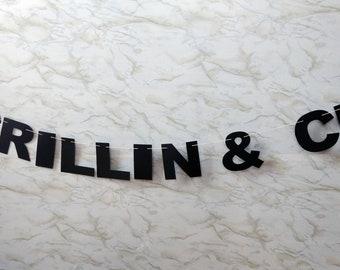 Grillin & Chillin Garland
