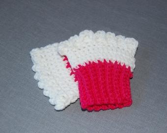 Cupcake fingerless gloves