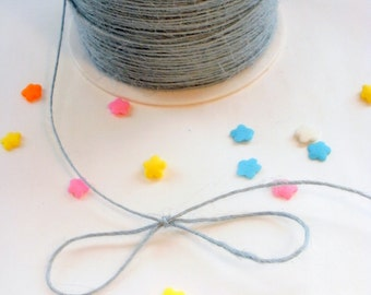 10 yards Light Blue Burlap String