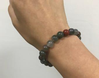 8mm Bloodstone Healing Bracelet