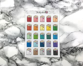 RF038 Sticker Happy Mail Packages  Doodle Planner Sticker