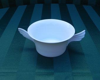 Vintage German Rosenthal Mythos Wing Handle Bowl or Dish Designed by Paul Wunderlich