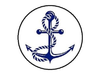 25mm, blue anchor