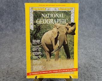 National Geographic Magazine 1969 February
