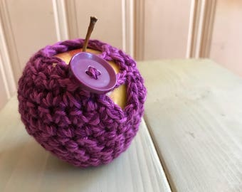 Protects Apple, Apple, apple cozy crochet covers